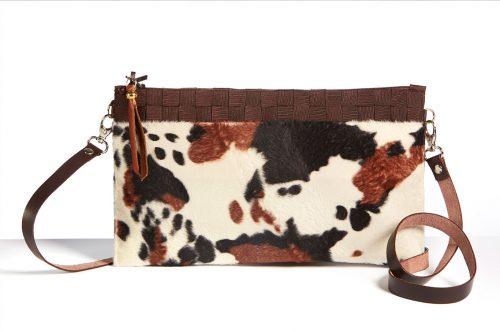 Bolso Animal Print Vaca